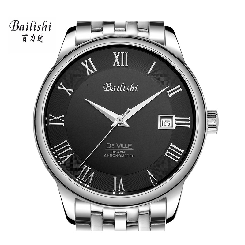 BAILISHI Top luxury brand men watch casual men's watches waterproof Mechanical Wristwatches stainless steel masculinity watches 2016 hot sale top brand ailang luxury men watches casual fashion waterproof stainless steel wristwatches mechanical watch