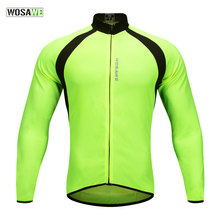 WOSAWE Mesh Breathable Cycling Jersey Summer Mtb Road Cykel Cykling Beklædning Maillot Ciclismo Quick-Dry UV Protect Sport Toppe