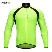 WOSAWE Mish çiklizëm çiklizmit Jersey Verë Mtb Road Bike Biçikletë Veshje Maillot Ciclismo UV të thata të shpejta Mbroni Tops Sport