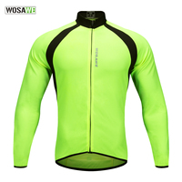 WOSAWE Mesh Breathable Cycling Jersey Summer Mtb Road Bike Cycling Clothing Maillot Ciclismo Quick Dry UV