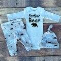 Бесплатная Доставка 2016 Новый Набор Прибытие Babys одежды хорошего качества мальчиков костюмы Детские Тела Розничные дети комплект одежды DXT323