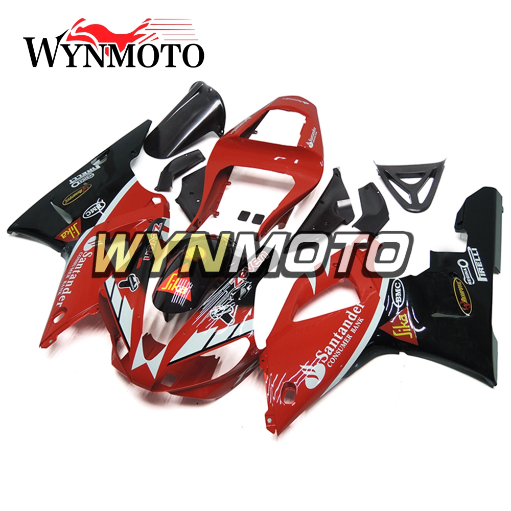 ABS Injection Plastics Fairings For Yamaha YZF1000 R1 Year 2000 2001 00 01 Fairing Kit Motorcycle Body Kit Carenes Red Black NEW motorcycle fairing kit for kawasaki ninja zx9r 2000 2001 purple black fairings set zx9r 00 01 ot01