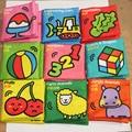 Младенческая Baby Дети Дети Intelligence Development Ткань Книга Познай Книга Toys
