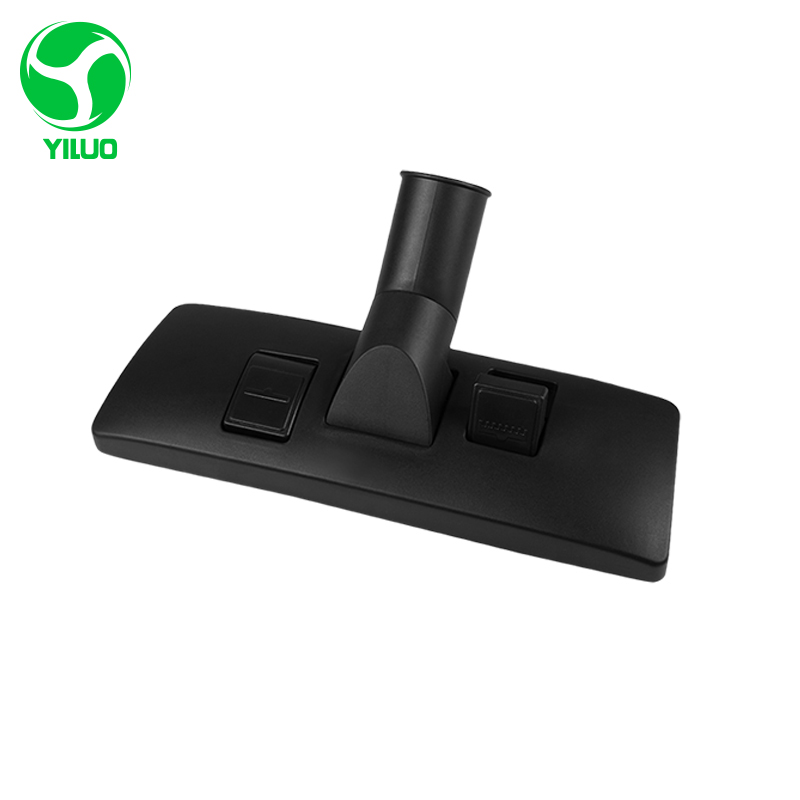 все цены на On sale Durable Quality Metal Black Universal Vacuum Cleaner brush parts inner diameter 35mm Carpet Floor Brush Swivel Head онлайн