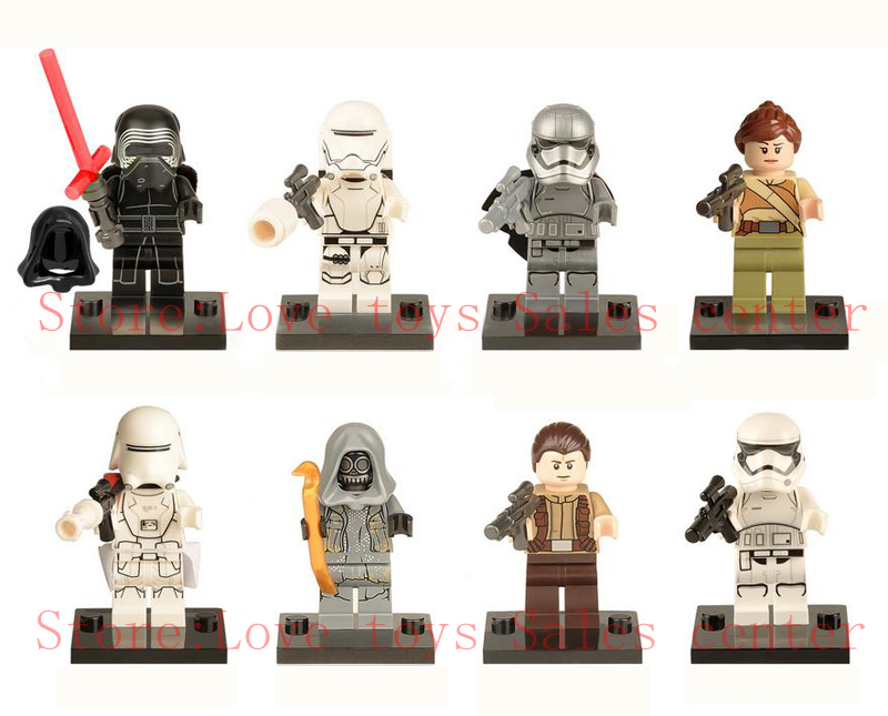 480pcs lot star wars force awakens minifig compatible lege. Black Bedroom Furniture Sets. Home Design Ideas