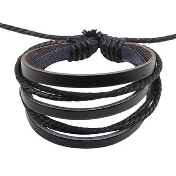 Bracelet cuir style vintage 1