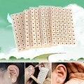 600pcs Ear Acupoint Detector Pen Press Seeds Sticker Vaccaria Plaster Bean TCM massage Acupuncture Massager Needle Patch