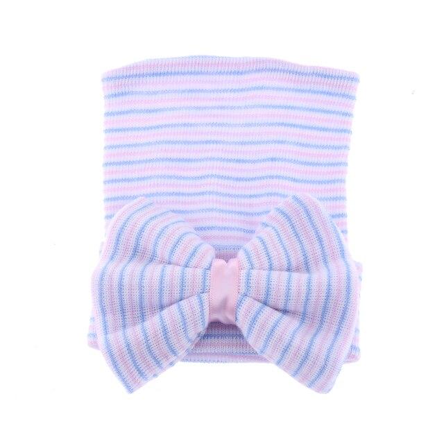 Newborn Hat With Bow