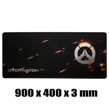 Overwatch Goliathus Extended SPEED Soft Gaming Mouse Mat Mouse Pad of Professional Gamers 900x400 size