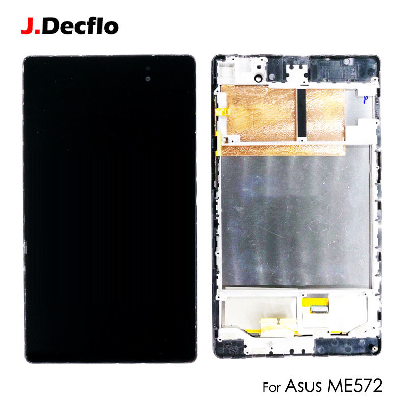 LCD Display Panel For Asus Nexus PAD 7 2nd ME572 ME572C ME572CL 7'' Touch Screen Digitizer Glass Assembly Original with Frame