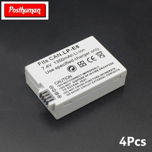 Replacement LP-E8 For Canon 7.4V 1350mAh Lithium ion Rechargeable Decoded Battery Digital Camera EOS EOS Kiss X4 X5 X6i X7i T2i