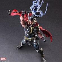 27cm Thor Marvel's The Avengers Marvel Comics Movie PA Cartoon