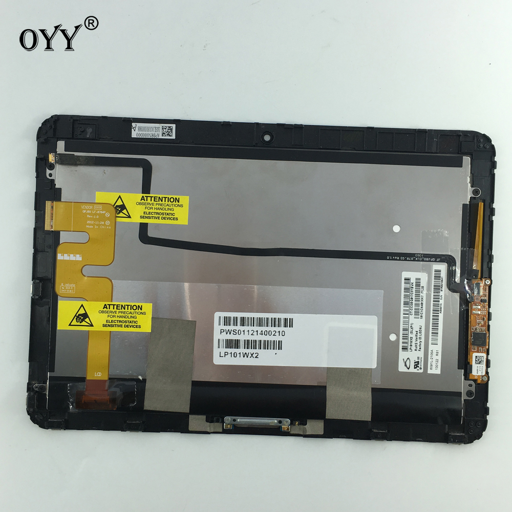цена на LP101WX2 SLP1 LCD Display Panel Screen Touch Screen Digitizer Glass Assembly For HP Elitepad 900