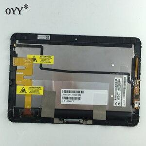 Image 1 - LP101WX2 SLP1 LCD ekran Panel ekran dokunmatik ekran Digitizer cam meclisi için HP Elitepad 900