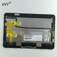LP101WX2 SLP1 lcdディスプレイパネル画面タッチスクリーンデジタイザガラスアセンブリhp elitepad 900