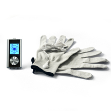 Dual Tens EMS Machine Digital Low Frequency Therapy device Electrical Muscle Stimulator Tens Gloves Massager With LED