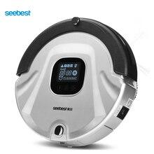 C565 Seebest EVA 2.0 Robotic Odkurzacz Ekran LCD, Filtr HEPA, Auto Czyste i Naładować Robot Czyszczący, rosja Magazyn