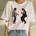 Женская футболка из целлюлозы с забавным принтом из фильма Миа Харадзюку Ulzzang, летняя футболка, модная футболка Девы Марии Миа, женские футб...