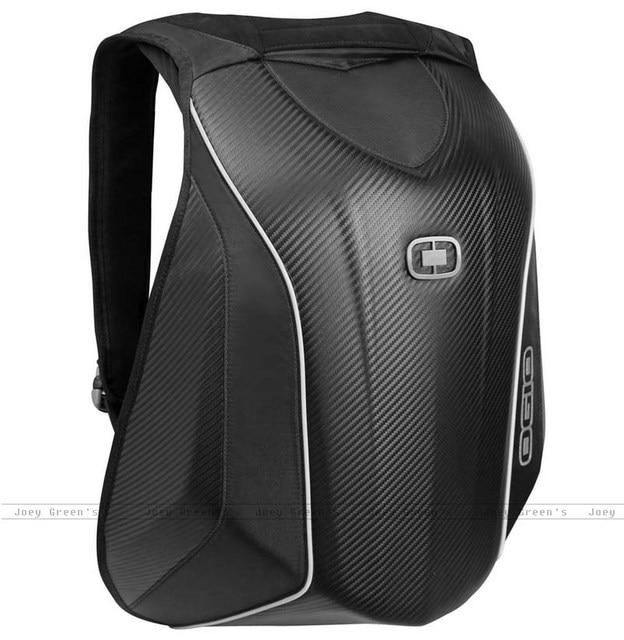 Mach 5 OGIO mochila de fibra de carbono de alta qualidade Da Motocicleta do motocross equitação corrida de saco mochilas para os pilotos
