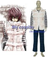 Anime Death Note Cosplay clothing Matt Men's Party Costume for Halloween Freeshipping