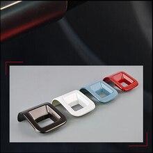 Emaicoca стайлинга автомобилей ABS Chrome Руль отделка Стикеры Украшение Чехол для Volkswagen VW Beetle 2013-2017 автомобилей Интимные аксессуары