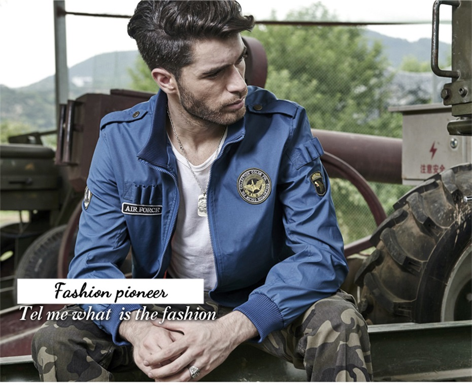 2018 New Thick cashmere parka Men Bomber Jacket Hip Hop Designs Slim Fit Pilot Bomber Jacket Coat Men Jackets Plus Size M-4XL