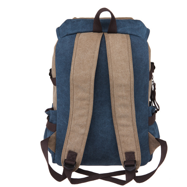 New Unisex Men Canvas Backpacks Large School Bags For Teenagers Boys Girls Travel Laptop Backbag Mochila Rucksack Grey