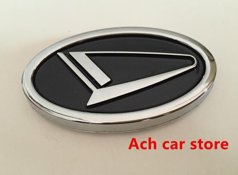 Daihatsu Badge >> Free Shippin 7 7 4 5cm Black Red Daihatsu Logo Car Emblem Rear