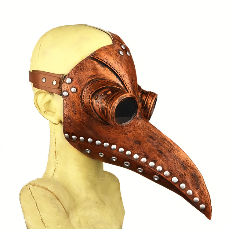 Retro Gear Duke Vintage Steampunk Plague Doctor Masks Birds Beak Adult Sex SM Men Women Party Sexy Masks