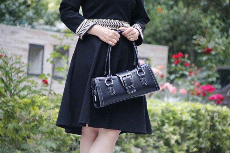 bolsa de ombro designer de luxo retro