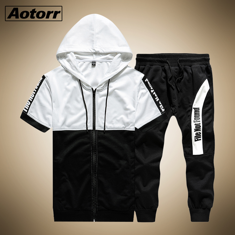 Boys Cycling  Tracksuit Kids Hooded Top Sweatshirt Bottoms Zip Jogging Summer