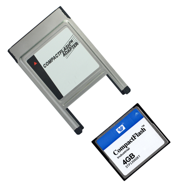 128MB Compact Flash Compactflash PC card PCMCIA Adapter JANOME 128 MB Sandisk