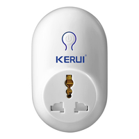 KERUI Alarm Accessories Wireless Remote Switch Smart Power Socket Plug 433MHz Home Automation For IPhone Android
