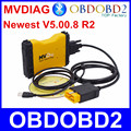 Newest MVD MVDiag V5.00.8 R2 With Bluetooth Same As TCS Free Activation Multi Vehicle Diag New VCI For Car Truck Free Ship