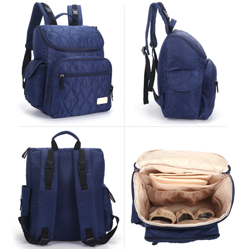 Lekebaby Multifunctional Baby Diaper Backpack Bag Maternity Mother Bag Lager Capacity Baby Diaper Nappy Changing Bag baby girl