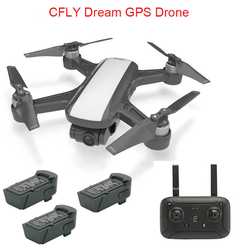 CFLY Droom GPS Drone RC Quacopter 1080P HD Camera 5G wifi FPV Lange Afstand Transmissie Follow me modus cirkel vliegende