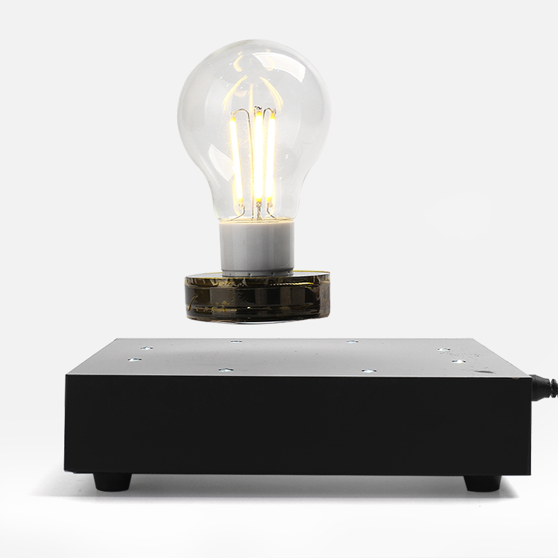 Magnetic suspension lamp  lighting lamp silica desktop atmosphere magnetic rechargeable muted pure silica