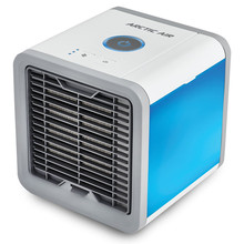 Drop shipping Air Cooler Small Air Conditioning Appliances Mini Fans Air Cooling Fan Summer Portable Conditioner