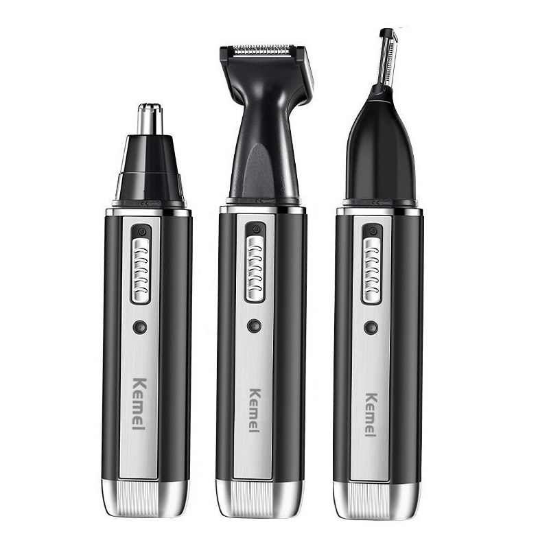 3in1 rechargeable nose trimmer beard trimer for men eyebrow nose hair trimmer for nose and ear cleaner hair removal machine