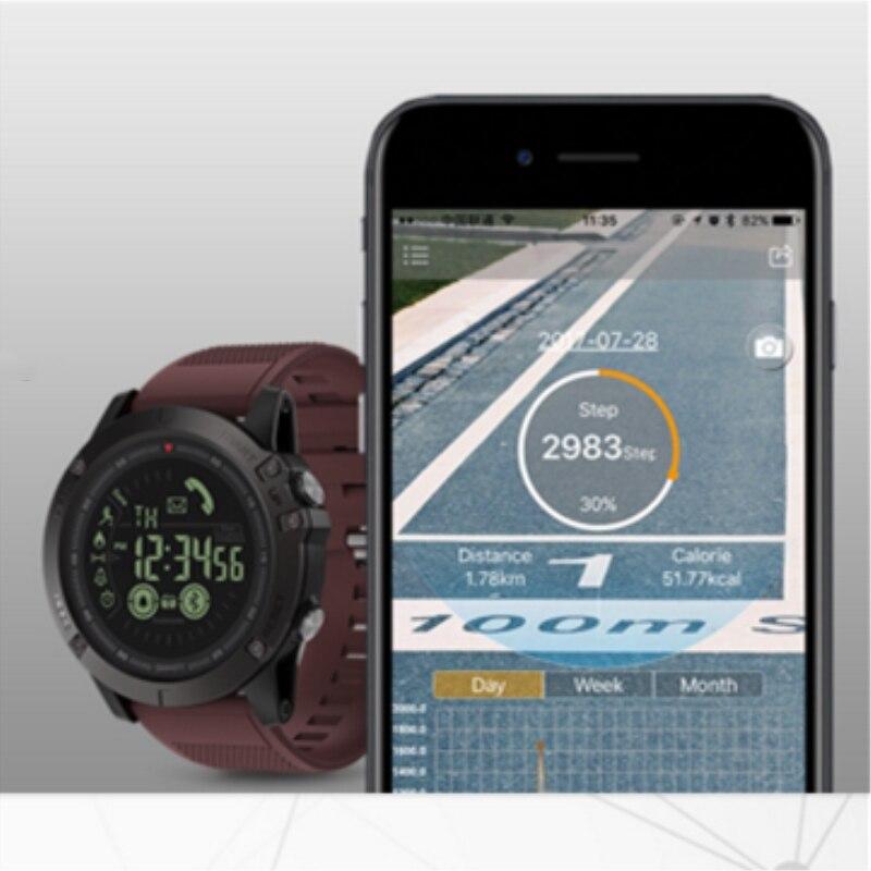 Hommes montre bracelet athlète 33 mois veille 24h tous temps surveillance sport bracelet IOS Android VIBE3 - 5