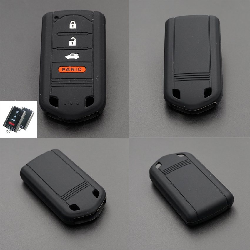 Xinyuexin Silicone Cover Smart Key Case Holder For Acura