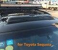 Teto solar escudos defletores de chuva tempo gruard shdows Acrílico para Toyota Sequoia 2003 ~ 2010