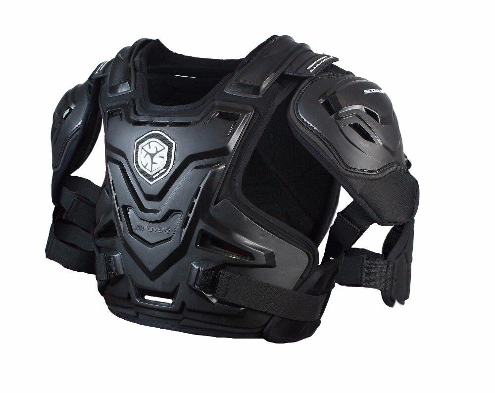 SCOYCO AM07 Racing грудь и спину Защитная мотоцикл волна PRO гвардии Броня шеи с курткой