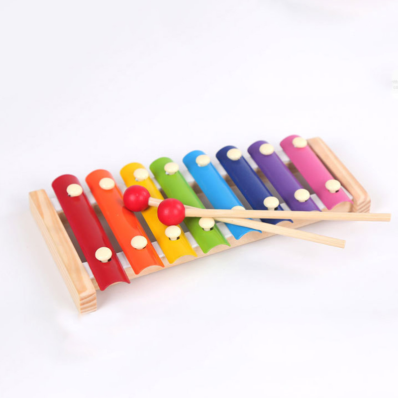 New product Toy Wooden Frame Music Instrument Style XylophoneToys Baby Educational Toys Gifts Children Kids Musical Funny in Toy Musical Instrument from Toys Hobbies