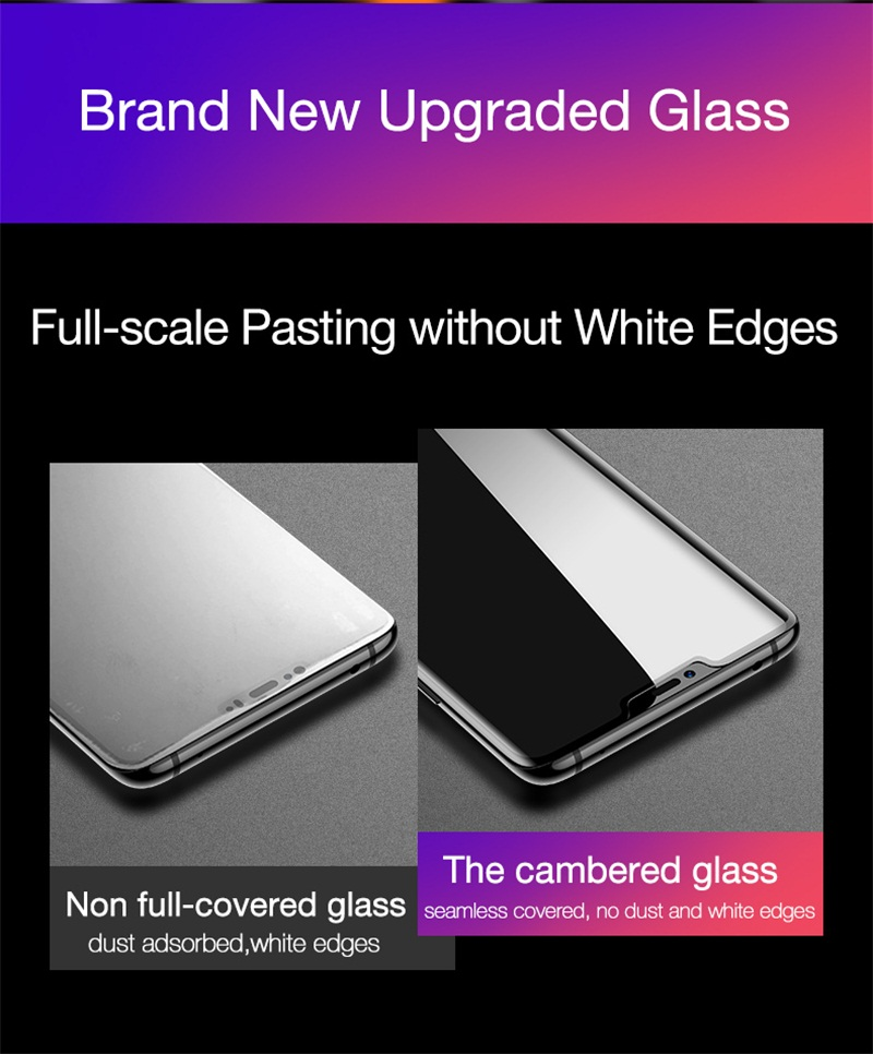 4. tempered glass for huawei mate 20pro