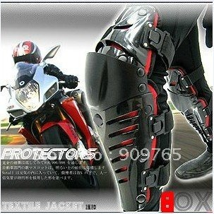 protective gear Sports off-road motorcycle Bike Racing protector Adjustable knee Guard Black Red
