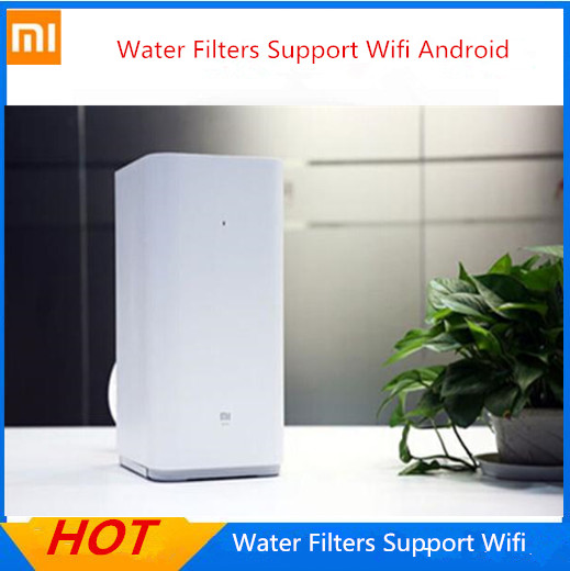 100% Original Xiaomi Water Purifier Water Filters Support Wifi Android IOS Smart Phone Cellphone App original xiaomi ми 3 3050mah cellphone бэттери bm31 high capacity rechargeable бэттери pack 100