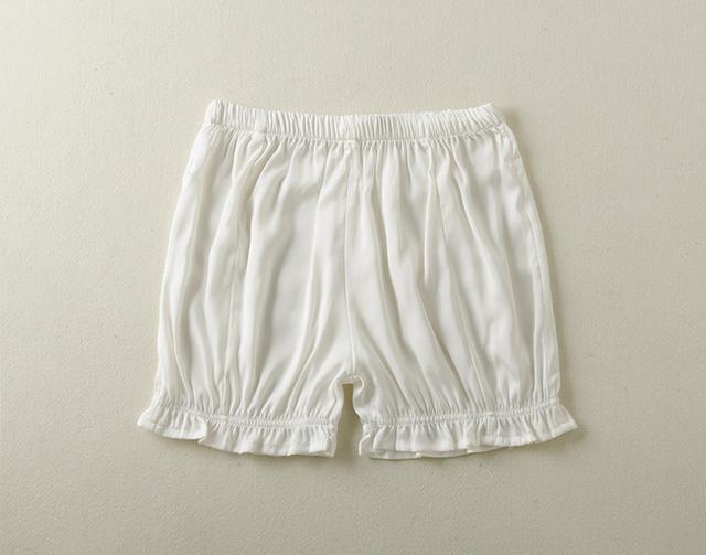 Pantalones cortos de seda de verano femenino ocio equipamiento del hogar respirable cómodo 100 pijama de seda para mujer pantalones cortos de color caramelo