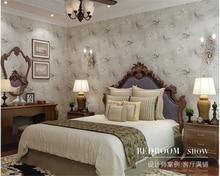 beibehang hudas beauty Classical flowers American country non-woven study living room bedroom wallpaper papel de parede behang