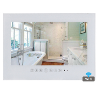 Free Shipping 15 6 Inch Android 4 0 Bathroom TV Waterproof LED TV Mirror Television WIFI